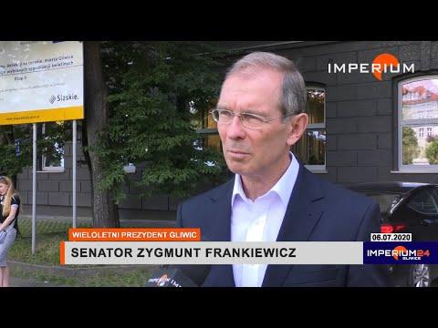 Senator Zygmunt Frankiewicz o proteście w/s Wilczych Dołów