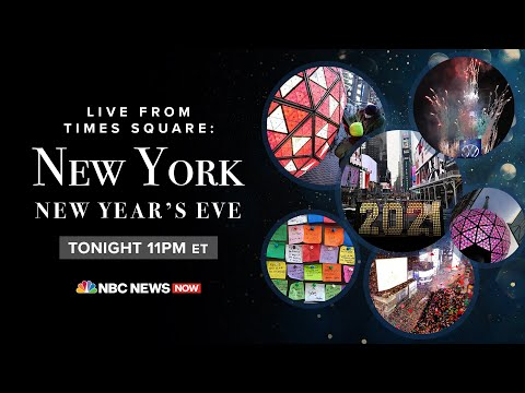 Live: New Year's Eve Celebrations From Times Square In NYC | NBC News
