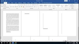 MS Word  Shortcut Key to Insert & Delete Blank Pages (Word 2003-2019)
