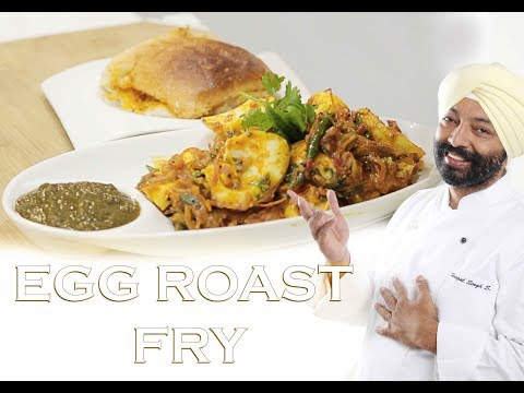 Hot garlic eggs turban tadka chef harpal singh foodfood f egg roast fry breakfast recipe by chef harpal singh sokhi forumfinder Images