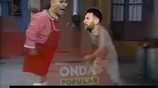 La pelea de Lionel Mesi jaja