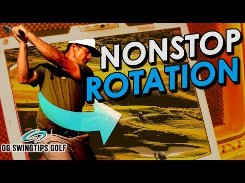 Nonstop Rotation Expands Golf Swing Potential
