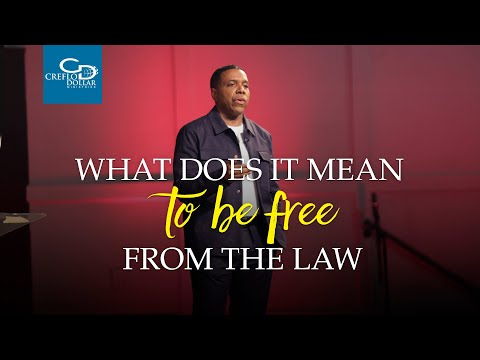 What Does It Mean To Be Free From The Law