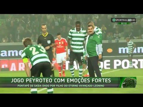 Jogo Peyroteo (Sporting x benfica - Taça de Portugal) com emoções fortes - Sporting TV (22/11/2015)