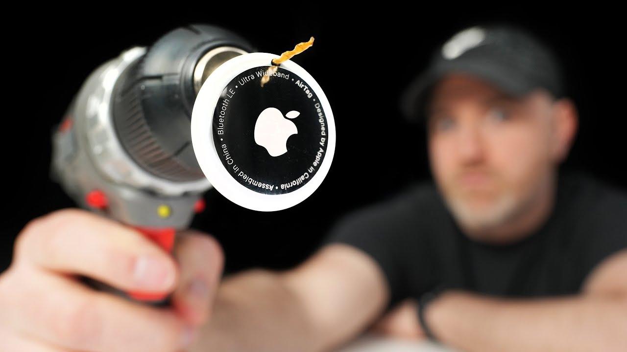 Drilling Through Apple AirTags…
