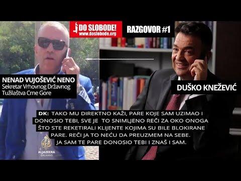 CG: Knežević tvrdi da je podmitio vrhovnog državnog tužioca