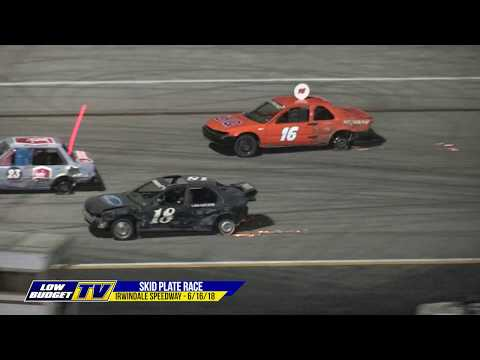 Night of Destruction - Skid Plate Race