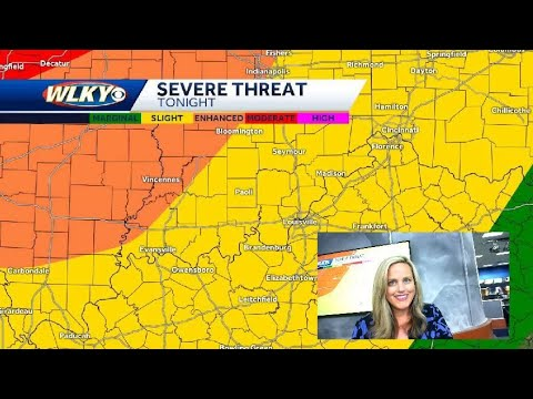 Storm Risk for Saturday