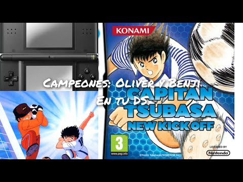 Captain Tsubasa New Kick Off (Konami) Nintendo DS