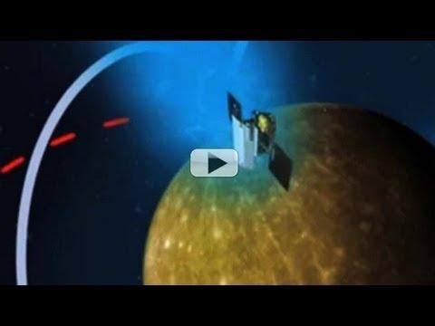 Mercury's Weak Shield No Match For Solar Wind - videofromspace