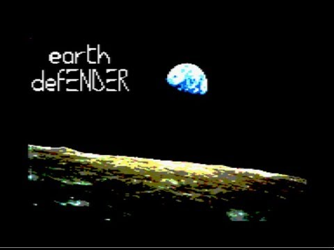 BITeLog 0078: earth defENDER (AMSTRAD) LONGPLAY