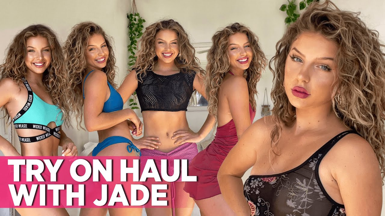 Sexy Jade's First Try On Haul Video: Drop Dead Gorgeous In Wicked Weasel