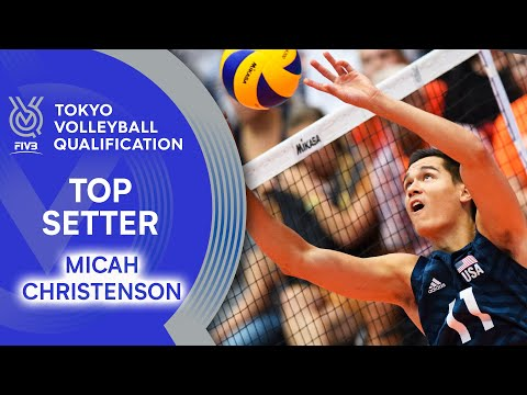 Micah Christenson - Best Setter of the World?   Top Setter   Volleyball Olympic Qualification 2019