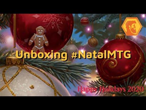 Unboxing #NatalMTG
