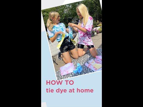 riverisland.com & River Island promo code video: HOW TO TIE DYE AT HOME // IslandersAtHome // River Island