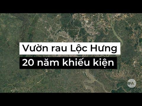 Vườn rau Lộc Hưng: 20 năm khiếu kiện