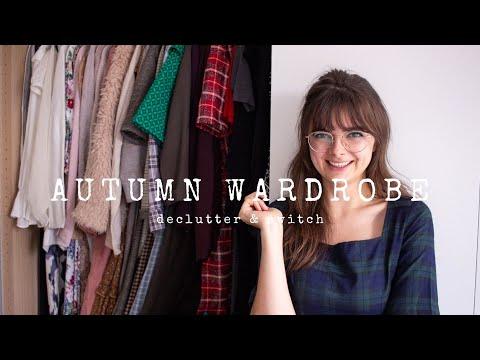 Autumn Wardrobe Switch & Declutter