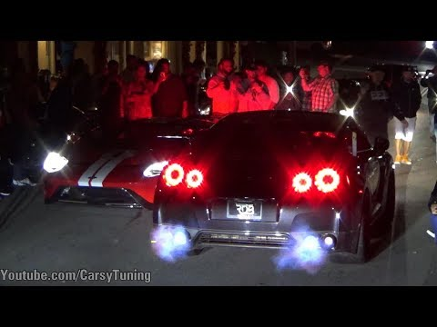 Cannery Row by Night - INSANE REVS and Burnouts