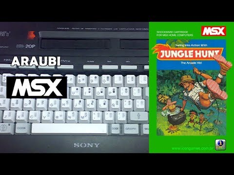 Jungle Hunt (Muffie, 2012) MSX [492] Walkthrough