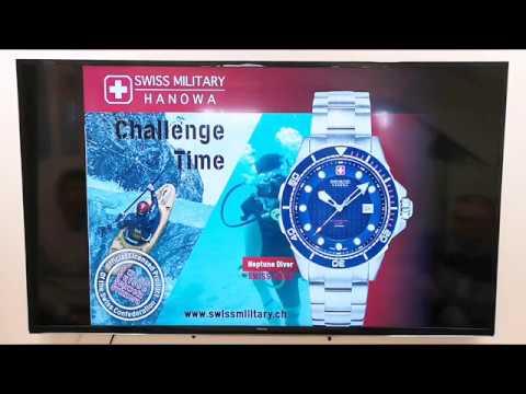 Introducing Swiss Military Hanowa watches in Norway -
