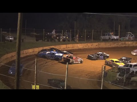 Stock 4b at Winder Barrow Speedway July 31st 2021 - dirt track racing video image