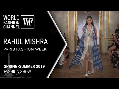 Rahul Mishra | Spring-summer 2019 Paris fashion week