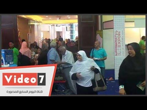"""مواطن للسيسى: بنشكرك على معرض """"سوبر ماركت اهلا رمضان"""" وكل حاجة موجودة"""