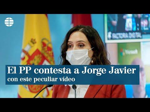 El PP de Madrid contesta a Jorge Javier Vázquez con este peculiar vídeo de Ayuso