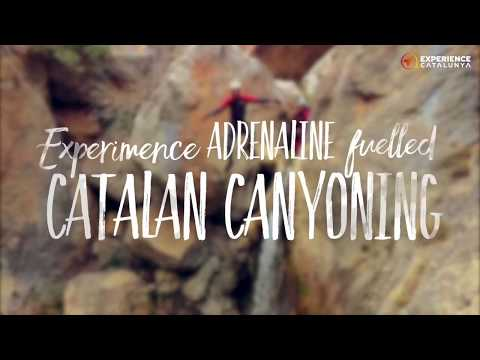 Experience adrenaline fuelled Catalan canyoning