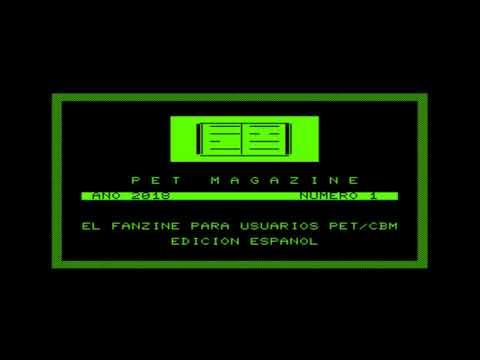 Fanzine Commodore Pet CBM