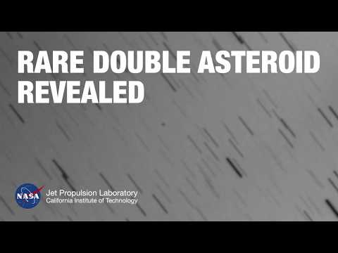 Rare Double Asteroid Revealed by NASA, Observatories
