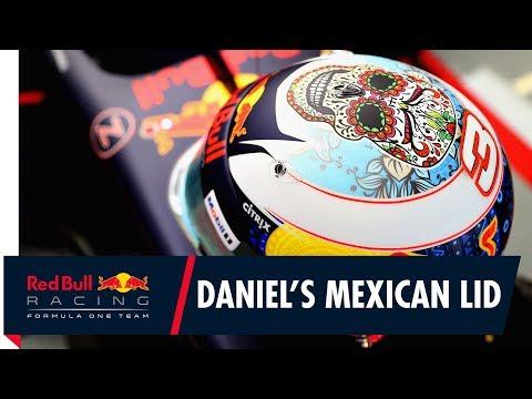 Daniel Ricciardo's Mexican Grand Prix Helmet Design