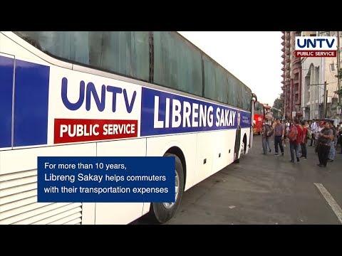UNTV Libreng Sakay, Making Your Commute Easier
