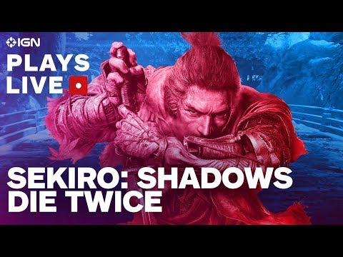 Sekiro: Shadows Die Twice Livestream - How Hard Are the First Two Hours? - UCKy1dAqELo0zrOtPkf0eTMw