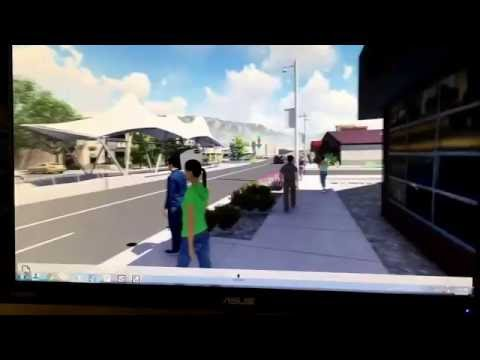 Albuquerque Rapid Transit (ART) in 3D and Virtual Reality