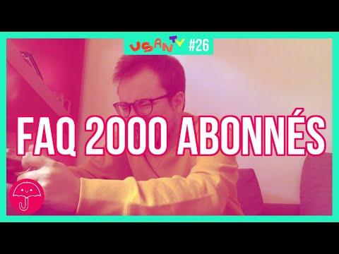 StoryBoard 0 de la vidéo FAQ 2000 ABONNÉS  ☂️ [ 우산 USAN TV #26]