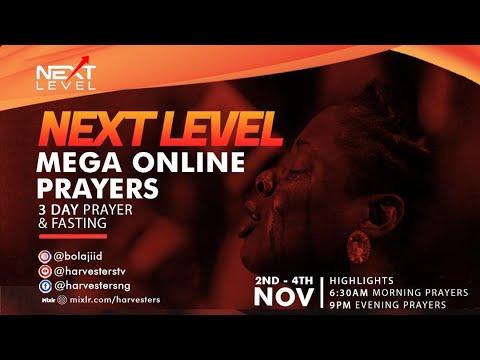 Next Level Prayer: Pst Bolaji Idowu 2nd November 2020