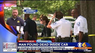 Crime Insider: Body found in car is homicide victim