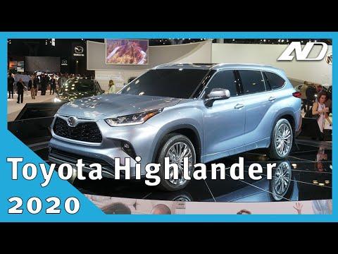 Toyota Highlander 2020 - Evolución más que revolución - #NYIAS2019