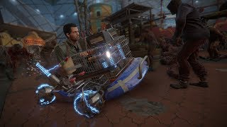 Dead Rising 4  Funny With Zombie By Driving Small Car