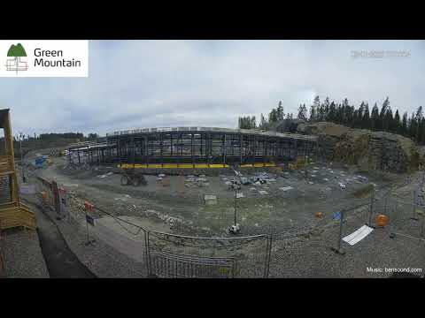 Time lapse video of Green Mountain DC3-Oslo Data Center