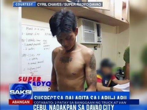 Isa sa mga primary suspect sa dalagitang pinatay at binalatan sa Cebu, naaresto na