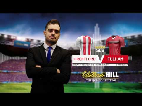 Championship: Brentford v Fulham preview by Pete Farries - 4 November 2016