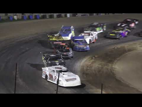 Pro Stock A-Feature at Crystal Motor Speedway, Michigan on 09-18-2021!! - dirt track racing video image