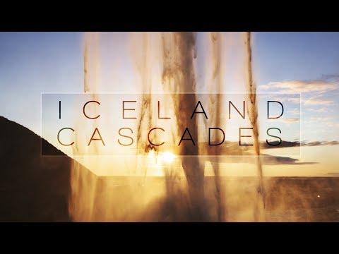 ICELAND CASCADES   4K slow-motion