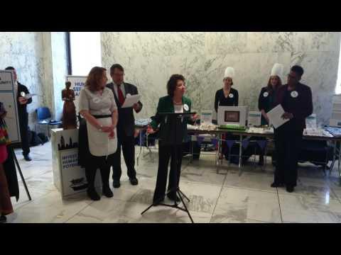 Human Services Bake Sale 3/22/17 - Loretta Zolkowski, Human Services Leadership Council of CNY
