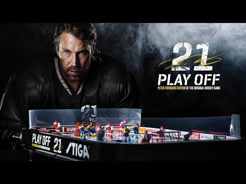 STIGA Play Off 21 Peter Forsberg Edition - English