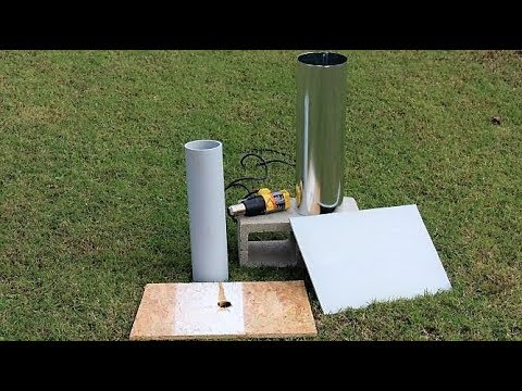 How to flatten a large piece of PVC pipe