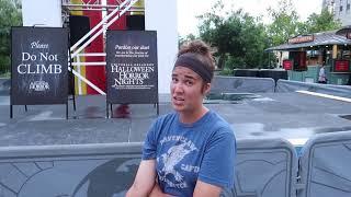 Halloween Horror Night Update Universal Orlando Resort | Riding Jurassic Park River Adventures