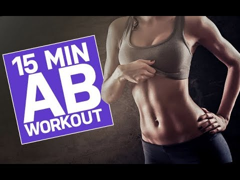 15 Minute AB WORKOUT | At Home | NO GYM REQUIRED!!